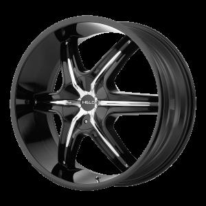 20x8.5  Helo Wheels HE891 Gloss Black 10  offset  72.6  hub