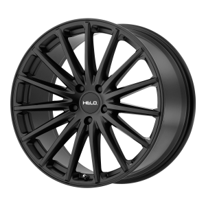17x7.5  Helo Wheels HE894 Satin Black 40  offset  72.6  hub