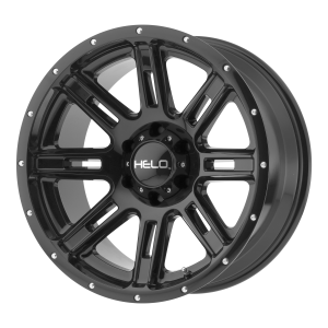 17x9  Helo Wheels HE900 Gloss Black -12  offset  106.25  hub