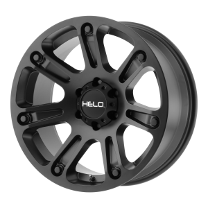 17x9  Helo Wheels HE904 Satin Black 0  offset  106.25  hub