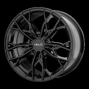 16x7  Helo Wheels HE907 Gloss Black 38  offset  72.6  hub