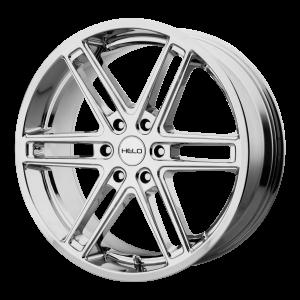 20x9  Helo Wheels HE908 Chrome 30  offset  106.25  hub