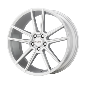 16x7  Helo Wheels HE911 Silver Machined 38  offset  56.6  hub