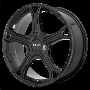 17x7.5  Helo Wheels HE915 Gloss Black 38  offset  72.6  hub