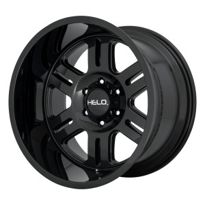 18x9  Helo Wheels HE916 Gloss Black 0  offset  106.25  hub