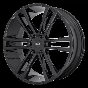 20x9  Helo Wheels HE918 Gloss Black 15  offset  106.25  hub