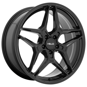 17x7.5  Helo Wheels HE919 Gloss Black 38  offset  56.5  hub