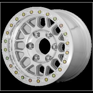 17x8.5  KMC Wheels KM234 Grenade Desert Machined 0  offset  108  hub