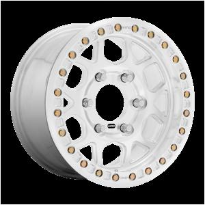 17x9  KMC Wheels KM444 Beadlock Raw Machined 25  offset  108  hub