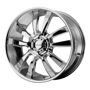 18x8  KMC Wheels KM673 Skitch Chrome 15  offset  106.25  hub
