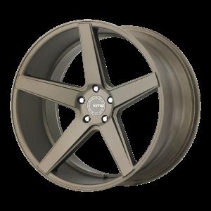 18x8  KMC Wheels KM685 District Matte Bronze 38  offset  66.56  hub