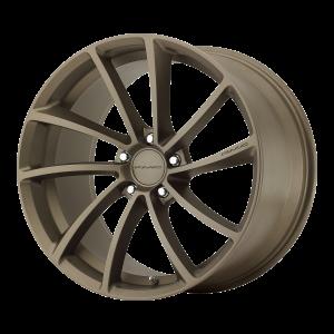 18x8  KMC Wheels KM691 Spin Matte Bronze 35  offset  72.6  hub
