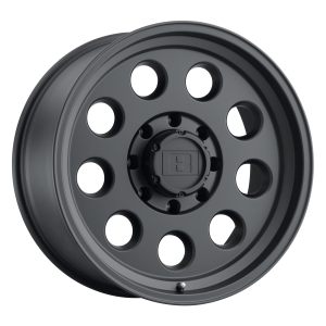 15x8  Level 8 Wheels Hauler Matte Black -30  offset  112.1  hub