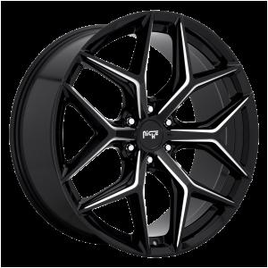 24x10 6x135 Niche Wheels M232 Vice SUV Gloss Black Milled 30 offset 87.1 hub