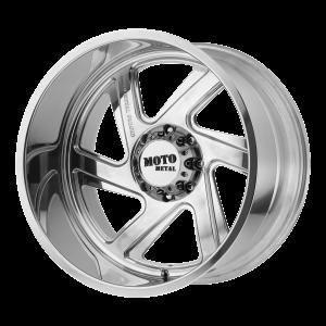 20x12 Blank Moto Metal Offroad Wheels MO400 Polished -44  offset  117  hub