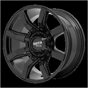 20x10 5x127/5x139.7 Moto Metal Offroad Wheels MO804 Spider Gloss Black -18  offset  78.1  hub