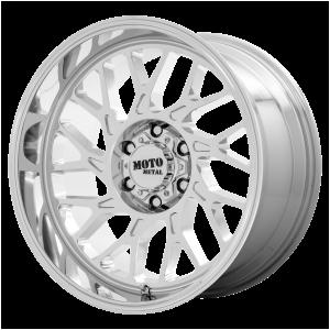 20x10 5x127 Moto Metal Offroad Wheels MO805 Chrome -18  offset  71.5  hub