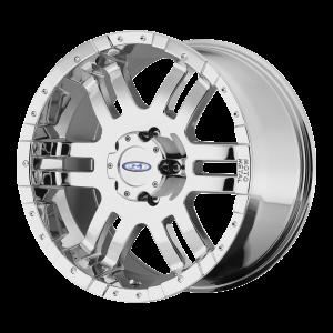 16x8 6x139.7 Moto Metal Offroad Wheels MO951 Chrome 0  offset  108  hub