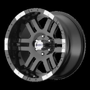 16x8 6x139.7 Moto Metal Offroad Wheels MO951 Gloss Black Machined 0  offset  108  hub