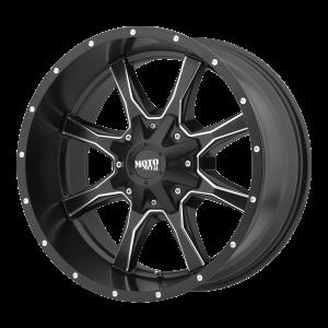 16x7 5x130 Moto Metal Offroad Wheels MO970 Satin Black Milled 42  offset  84.1  hub