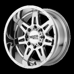 18x9 5x127 Moto Metal Offroad Wheels MO975 Pvd -12  offset  78.3  hub