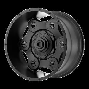 17x9 5x127/5x139.7 Moto Metal Offroad Wheels MO977 Link Black Out 25  offset  78.3  hub