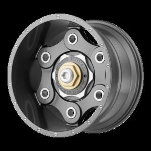 17x9 6x135/6x139.7 Moto Metal Offroad Wheels MO977 Link Gun Metal 18  offset  106.25  hub