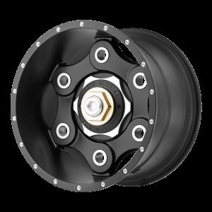17x9 6x135/6x139.7 Moto Metal Offroad Wheels MO977 Link Satin Black 18  offset  106.25  hub