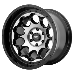 17x9 5x127 Moto Metal Offroad Wheels MO990 Rotary Gloss Black Machined -12  offset  78.3  hub