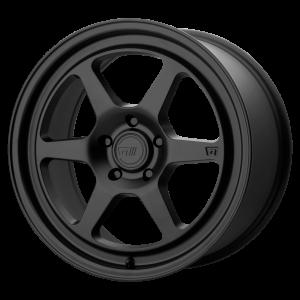 17x8.5 5x112 Motegi Wheels MR136 Satin Black 45 offset 66.56 hub