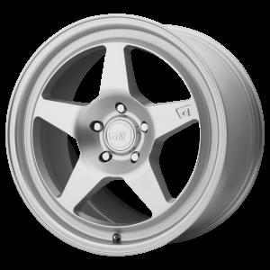 17x8.5 5x112 Motegi Wheels MR137 Hyper Silver 35 offset 66.56 hub