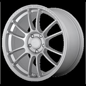 15x8 4x100 Motegi Wheels MR146 SS6 Hyper Silver 28 offset 72.6 hub