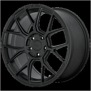 17x8 5x100 Motegi Wheels MR147 CM7 Satin Black 38 offset 72.6 hub