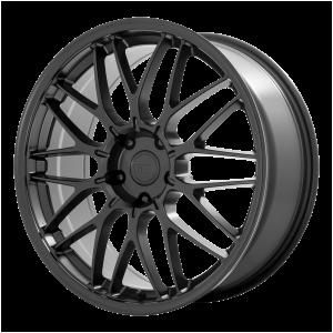 20x8.5 5x112 Motegi Wheels MR153 CM10 Satin Black 45 offset 66.56 hub