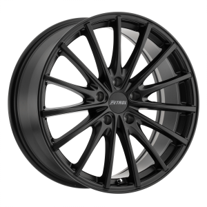 17x8 5x100 Petrol Wheels P3A Matte Black 35 offset 72.1 hub