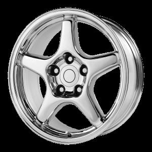 17x9.5 5x120.65 OE Creations Replica Wheels PR103 Chrome 38 offset 70.7 hub