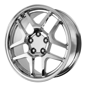 17x8.5 5x120.65 OE Creations Replica Wheels PR105 Chrome 56 offset 70.7 hub