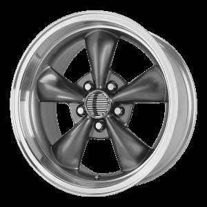 17x10.5 5x114.3 OE Creations Replica Wheels PR106 Anthracite Machined 27 offset 70.6 hub