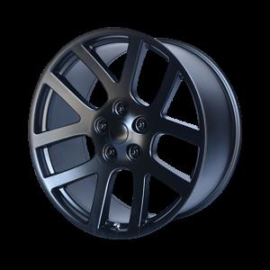 20x9 5x115 OE Creations Replica Wheels PR107 Semi Gloss Black 20 offset 71.5 hub