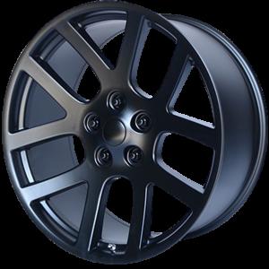 20x9 5x139.7 OE Creations Replica Wheels PR107 Satin Black 25 offset 77.8 hub
