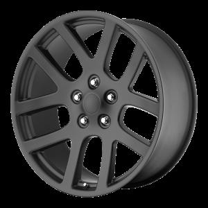 20x9 5x115 OE Creations Replica Wheels PR107 Matte Black 20 offset 71.5 hub
