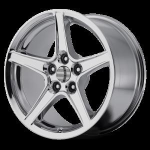 18x10 5x114.3 OE Creations Replica Wheels PR110 Chrome 24 offset 70.6 hub