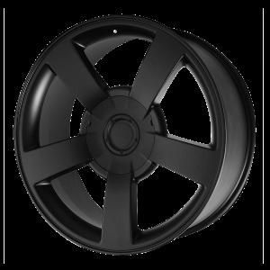 20x8.5 6x139.7 OE Creations Replica Wheels PR112 Matte Black 22 offset 78.3 hub