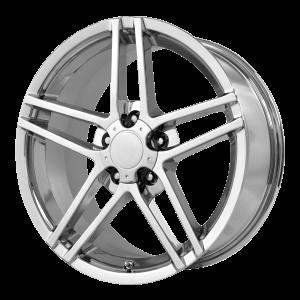 17x8.5 5x120.65 OE Creations Replica Wheels PR117 Chrome 49 offset 70.7 hub