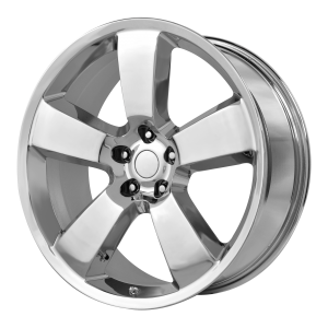 20x9 5x115 OE Creations Replica Wheels PR119 Chrome 18 offset 71.5 hub