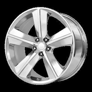 20x9 5x115 OE Creations Replica Wheels PR123 Chrome 20 offset 71.5 hub