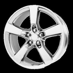 20x8 5x120 OE Creations Replica Wheels PR125 Chrome 35 offset 67.06 hub