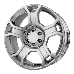 22x9 6x135 OE Creations Replica Wheels PR127 Chrome 44 offset 87.1 hub