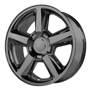 20x8.5 6x139.7 OE Creations Replica Wheels PR131 Gloss Black 31 offset 78.3 hub