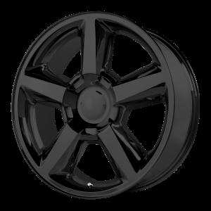 20x8.5 6x139.7 OE Creations Replica Wheels PR131 Matte Black 31 offset 78.3 hub